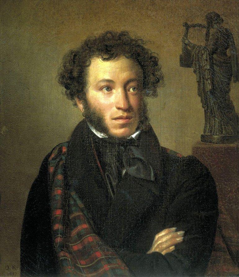 Hanibalov praunuk postao je najveći ruski pesnik- Aleksandar Sergejevič Puškin